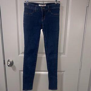"J brand ""starless"" low rise skinny jeans"